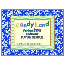Cartes Candy Land Verbe Être Ind. Futur simple
