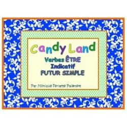 Cartes Candy Land Verbe Être Ind. Futur simple