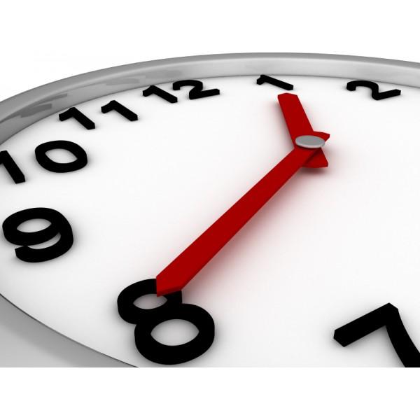 Horloge activité