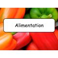 Mots étiquettes -  Alimentation