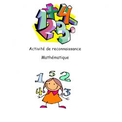 Activité de reconnaissance mathématique