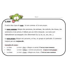 Notions français 2e cycle