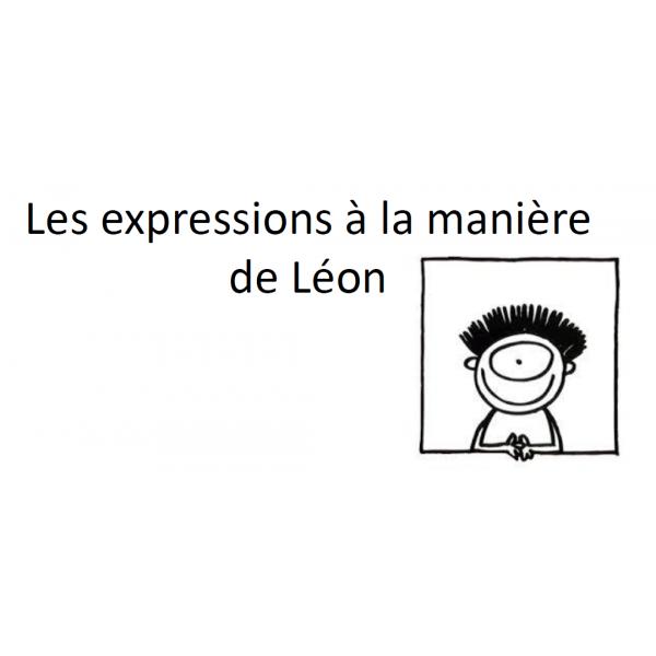 À la manière de Léon