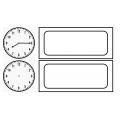 Menu et calendrier