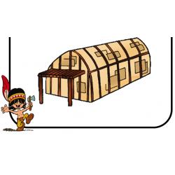 Description d'une maison longue