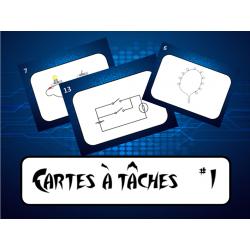 Cartes tâches les circuits électriques #1 et 2