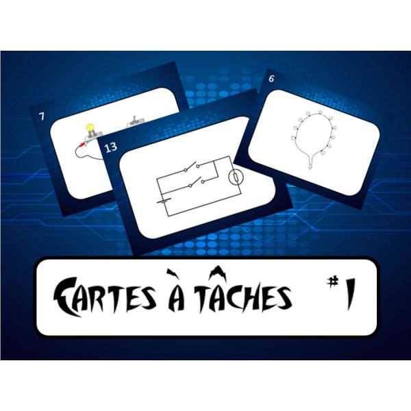 Cartes tâches les circuits électriques #1