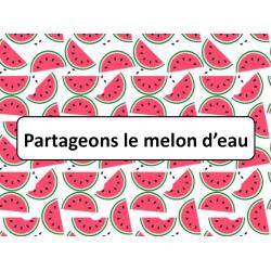 Partageons le melon d'eau