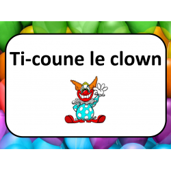 Ti-coune le clown