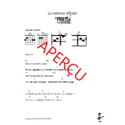 La relation d'Euler! - Accords de guitare