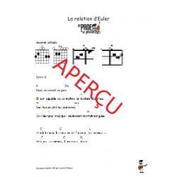 La relation d'Euler! - Accords de guitare