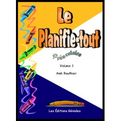 Planifie-tout préscolaire (volume 1)