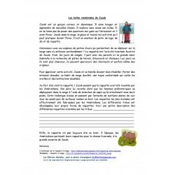 Compréhension de texte 2e cycle - Jacob