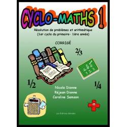 Cyclo-maths 1 corrigé