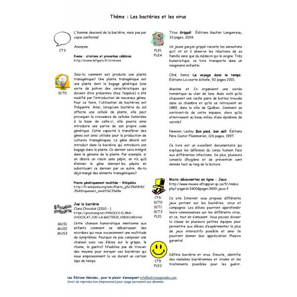 Thém@tout - Bactéries/Virus (primaire)