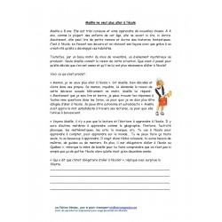 Compréhension de texte - 3e cycle- Maëlle