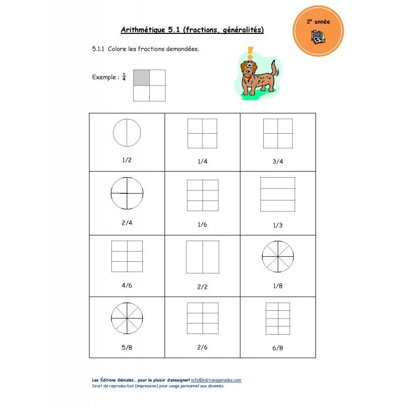 Fractions 2e Annee