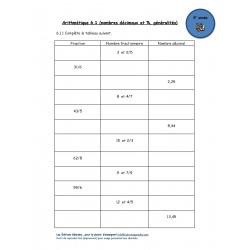 Nombres décimaux #1 (5e année)