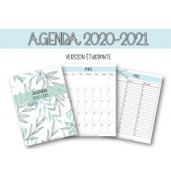 Agenda 2020-2021 (VERSION ÉTUDIANTE)