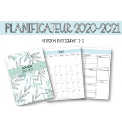 Planificateur 2020-2021 (VERSION ENSEIGNANT 3-2)