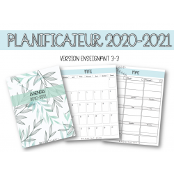 Planificateur 2020-2021(VERSION ENSEIGNANT 3-3)
