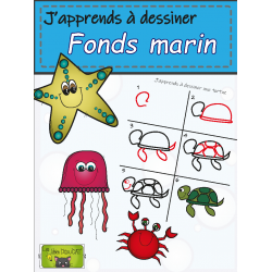 J'apprends à dessiner les fonds marin