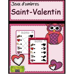 Jeux d'ombres Saint-Valentin