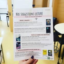 Suggestions lecture - novembre