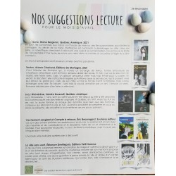 Suggestions lecture - avril