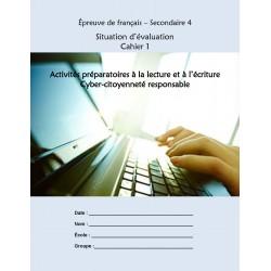 SÉ français sec. 4 Cyber citoyenneté