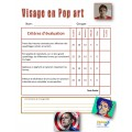 Arts S4 Visage en pop art