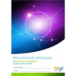 Arts mouvements 2e cycle secondaire