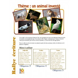 Écriture Rallye animal inventé (descriptif)