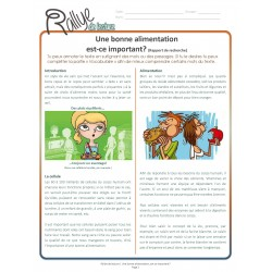 Lecture Rallye Alimentation