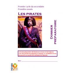 Français Évaluation écriture secondaire 1 Pirates