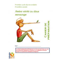 Français éval. lecture sec 1 vérité mensonge