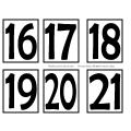 Calendrier de classe modèle #1