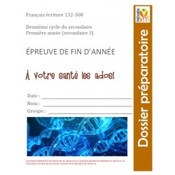Français éval écriture explicatif Secondaire 3