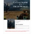 Français sec.1 Évaluation écriture fin du monde