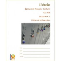Français sec 1 Lecture évaluation École