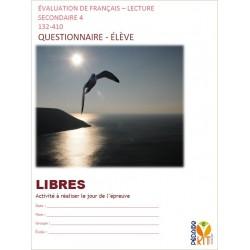Lecture sec 4 Évaluation LIBRES