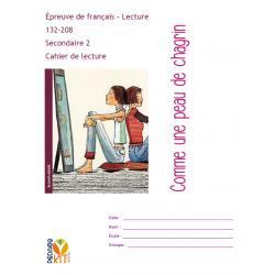 Lecture sec 2 Évaluation Peau de chagrin