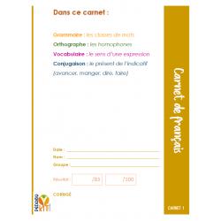 Français 6 carnets
