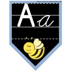 Affiches de l'alphabet (cursive)
