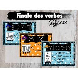 Finale des verbes (Affiches)
