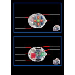 Fiches techniques de Blue-bot et Bee-bot