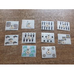 Cartes de pirates