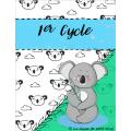 Affiche par cycle cartable de suppléance