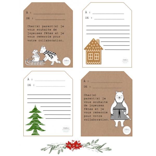 Petite pensée de Noël pour les parents