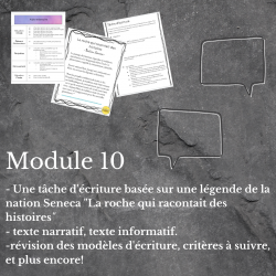 Intégrer la culture Mohawk  - module 10
